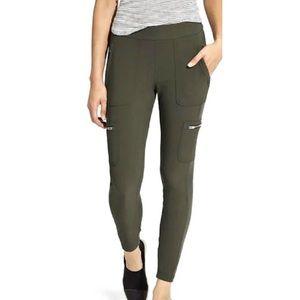 Athleta Wander Cargo Olive Green Jogger Pants